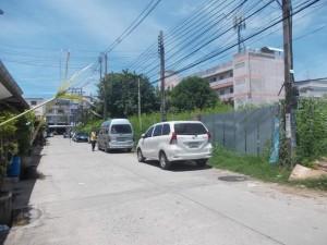 ถนน หน้า แปลงที่ดิน ถมแล้ว ราคาถูก
